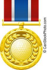 Golf-Medaille