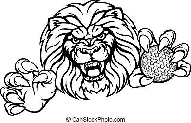 Golfball-Mascott.