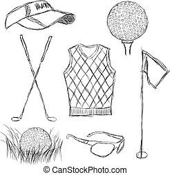 Golfkollektion.