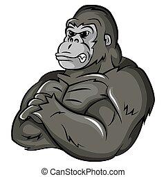 Gorilla starkes.
