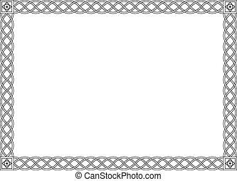 Gothic simples schwarzes Dekorationsbild