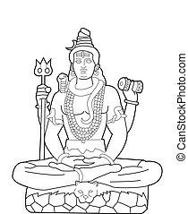 Gott Shiva