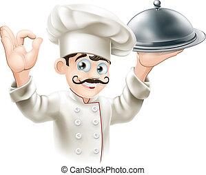 Gourmet-Chef-Illustration