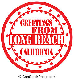 Grüße vom langen Strandlabel.