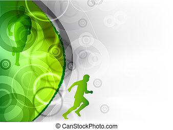 Grün läuft