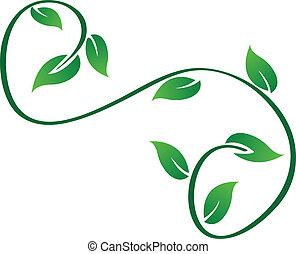 Grün verdrahtet das Logo