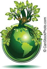 Grüne Erde