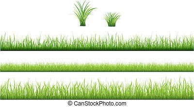 Grüne Grassammlung