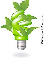 Grüne Lampe