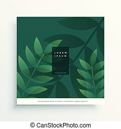 Grüne Natur verlässt Vektordesign.