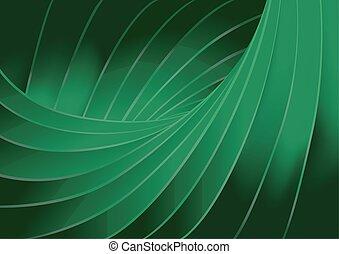 Grüne Struktur, Hintergrund.