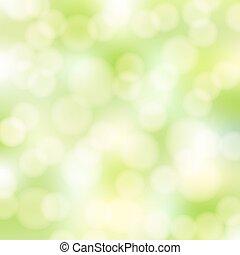 Grüner Bokeh-Hintergrund entfernen
