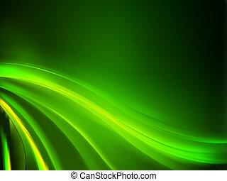 Grüner Hintergrund abbrechen. EPS 8