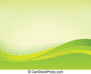 Grüner Hintergrund abbrechen