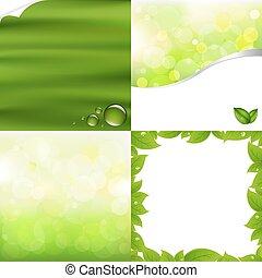 Grüner Hintergrund