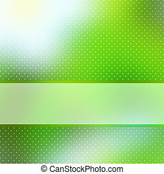 Grüner Hintergrund mit Kopien abbrechen. EPS 8