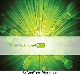 Grüner Hintergrund mit Platz für Ihren Text.