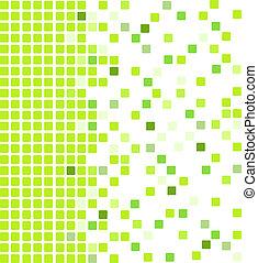 Grüner mosaischer Hintergrund