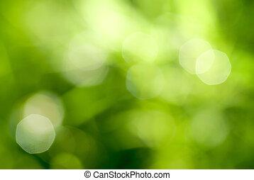 Grüner, natürlicher Backgound abfahren