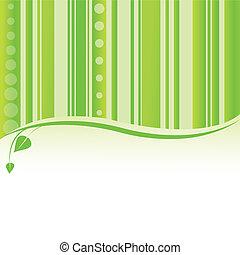 Grüner Natur Hintergrund. Vector