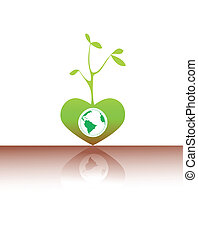 Grüner Samen