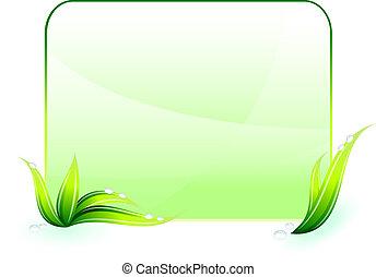 Grüner Umweltschutz Hintergrund