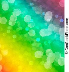 Grüner verschwommener abstrakter Hintergrund oder Bokeh