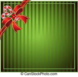 Grüner Weihnachts Hintergrund