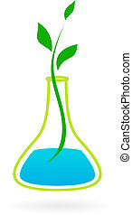 Grünes Medizin-Logo