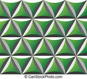 Grünes nahtloses Muster