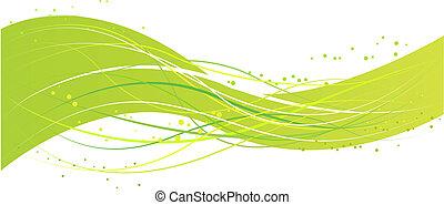 Grünes Wellenmuster deaktivieren