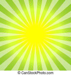 Grüngelenklicher Hintergrund (vektor)