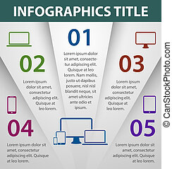 Graph Design infografisches Muster