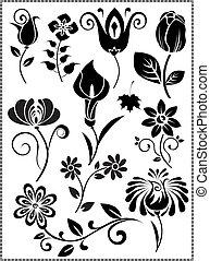 Graphis-Design-of-Blumenvektor