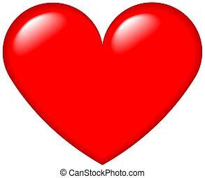 Graphisches Herz 4
