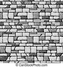 Graue Mauer nahtlos.