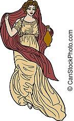 Griechische Frau