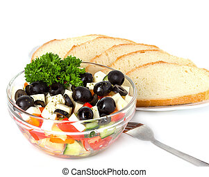 Griechischer Salat.