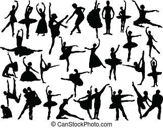 Große Ballettsammlung - Vektor