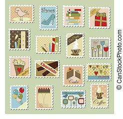 Große Briefmarken