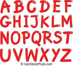 Große Buchstaben