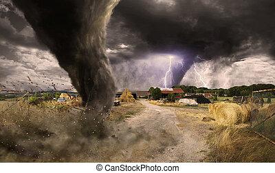 Große Tornado-Katastrophe.