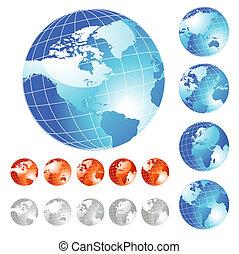 Großer Globus.