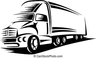 Großer Truck.