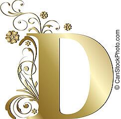 Großes D-Gold