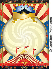Großes Zirkusposter