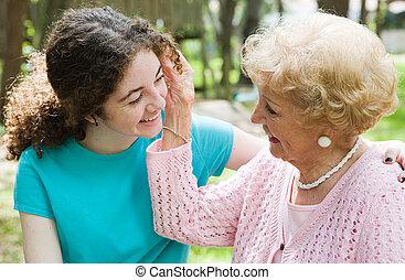 Großmütter lieben es