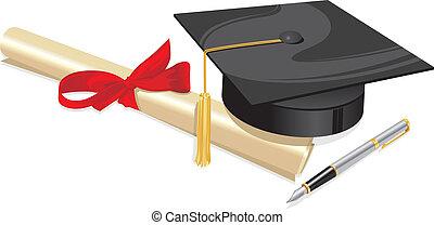gruß, grad, hochschule, universität