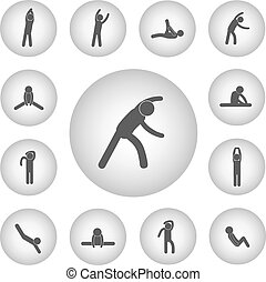 Grundlegende für Körperübungen.