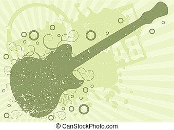 Grunge Gitarren Hintergrund